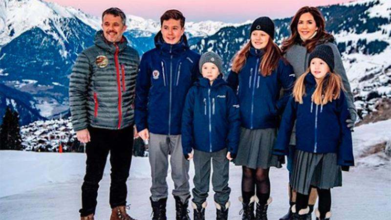 princess mary and frederik switzerland home
