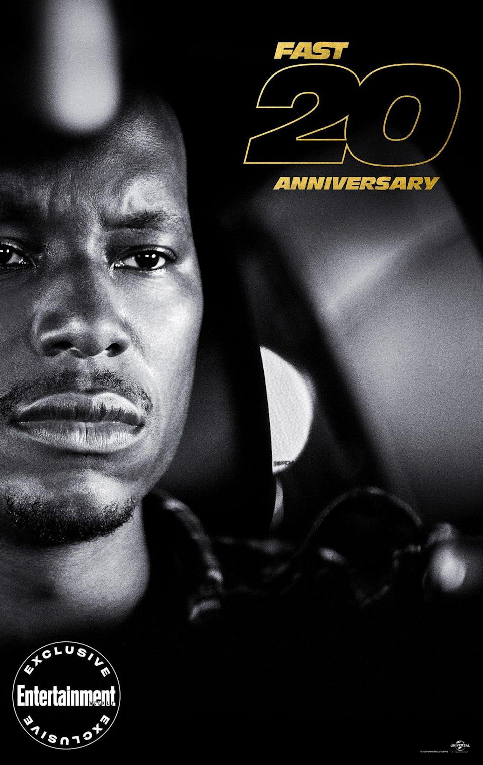 """<p>When Diesel opted not to return for 2003's <em>2 Fast 2 Furious</em>, <a href=""""https://ew.com/tag/tyrese-gibson/"""" rel=""""nofollow noopener"""" target=""""_blank"""" data-ylk=""""slk:Tyrese Gibson,"""" class=""""link rapid-noclick-resp"""">Tyrese Gibson,</a> a singer-turned-actor just coming off his film debut, joined Walker. """"I got blessed by default,"""" <a href=""""https://ew.com/ew-binge-podcast/fast-saga-tyrese-gibson-furious-7/"""" rel=""""nofollow noopener"""" target=""""_blank"""" data-ylk=""""slk:admitted Gibson on EW's BINGE: The Fast Saga"""" class=""""link rapid-noclick-resp"""">admitted Gibson on <em>EW's BINGE: The Fast Saga</em></a>. """"I said, 'Man, I'll do this s--- for per diem!'"""" He's since established himself as the franchise's comedic relief, having starred in six <em>Fast</em> films.</p>"""