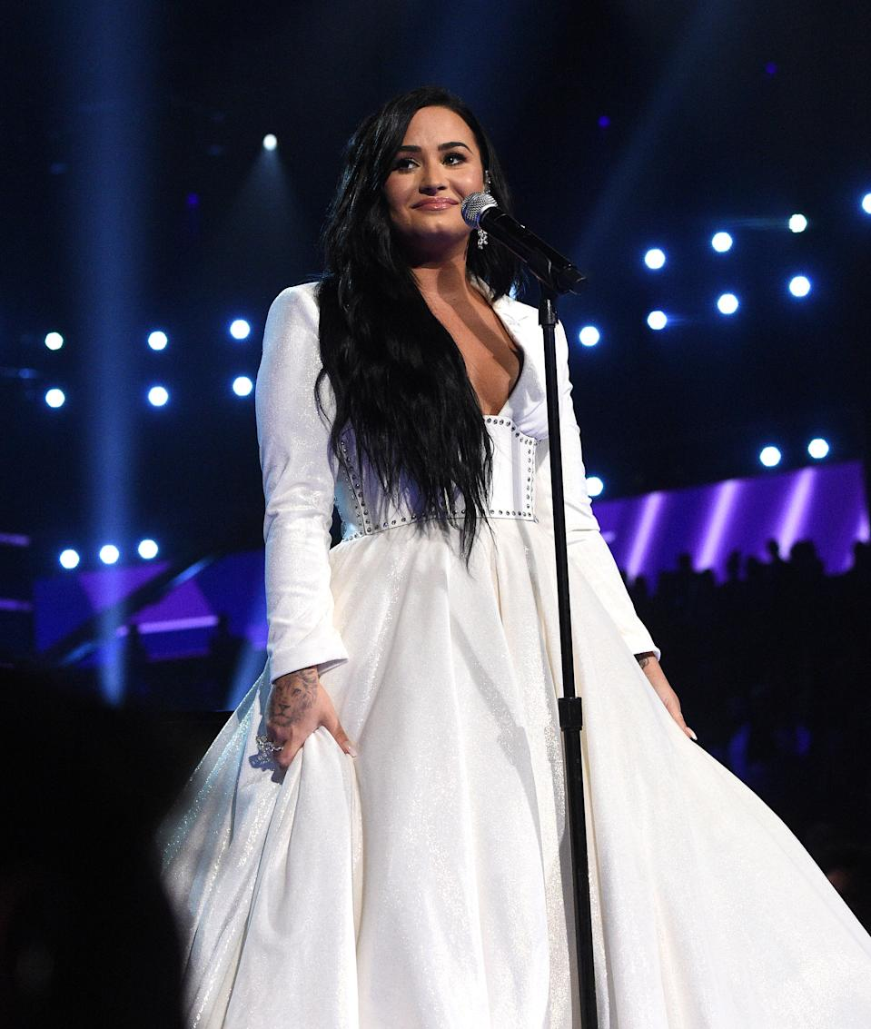 Demi Lovato Delivers Raw Grammys Performance Of Anyone