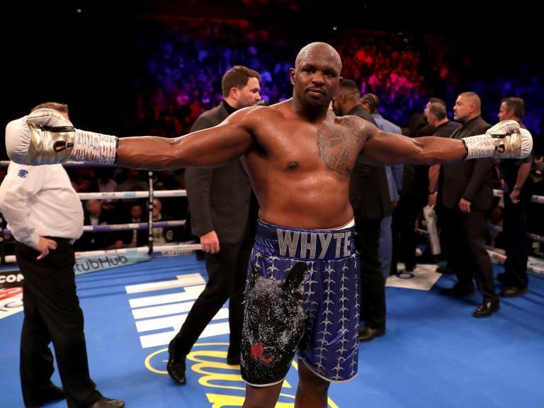 Dillian Whyte next fight: Brit reveals three-man shortlist as he ponders next opponent