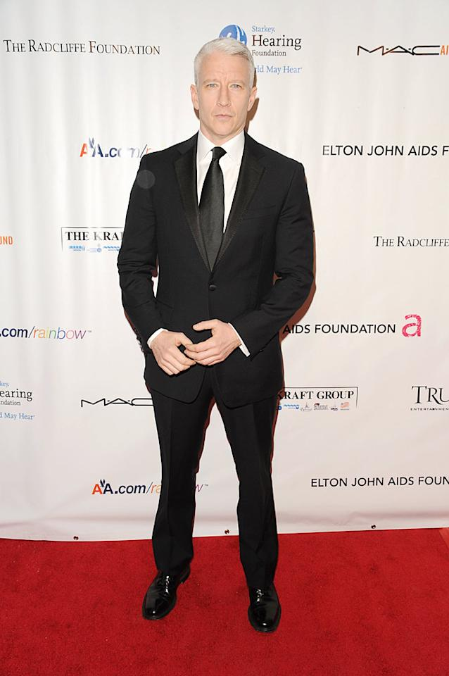 "CNN anchor Anderson Cooper hosted the event, which also honored former President Bill Clinton. Andrew H. Walker/<a href=""http://www.wireimage.com"" target=""new"">WireImage.com</a> - November 16, 2009"