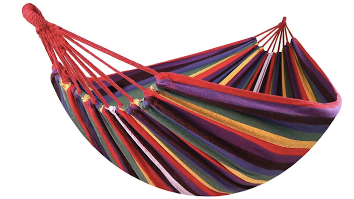If I was picking a single item off this list, I'd go with a hammock every time