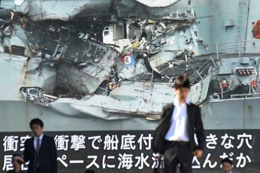 US Navy probes destroyer crash that killed seven in Japan