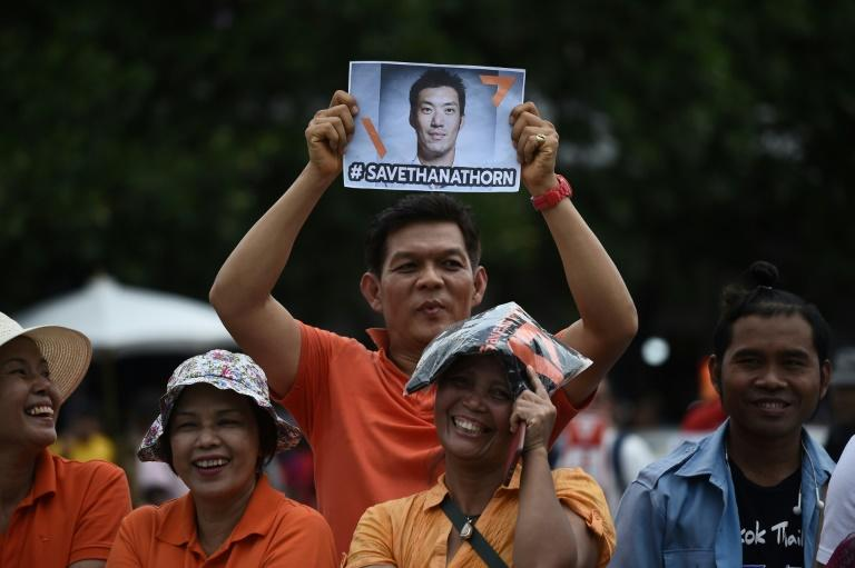Thanathorn was suspended from parliament in May