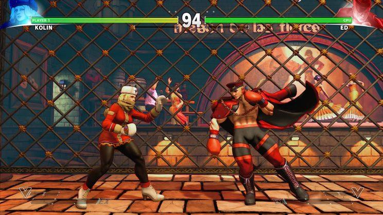Street Fighter V's remastered Spain stage in the newest update
