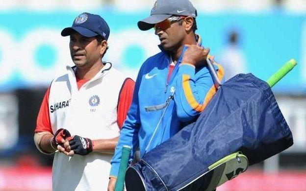 Sachin Tendulkar and Rahul Dravid - two of the greatest servants of Indian cricket.