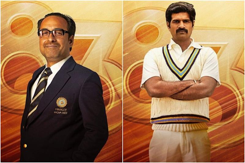 '83 Character Posters: Pankaj Tripathi as PR Man Singh and R Badree as Sunil Valson