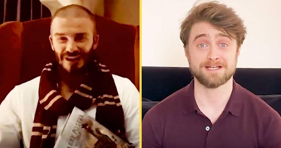 Daniel Radcliffe & Other Celebs Will Read You 'Harry Potter' From Home