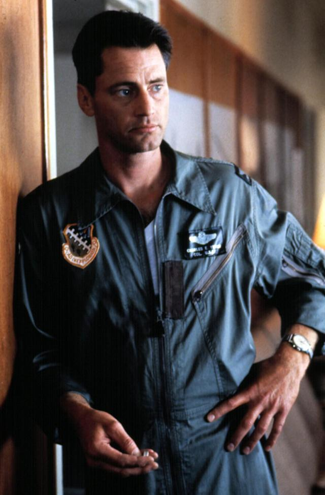 "<p>Shepard received his first and only Oscar nomination for his striking performance as pilot <a href=""http://www.chuckyeager.com/"" rel=""nofollow noopener"" target=""_blank"" data-ylk=""slk:Chuck Yeager"" class=""link rapid-noclick-resp"">Chuck Yeager</a> in this epic astronaut drama. Yeager famously <a href=""https://www.youtube.com/watch?v=zgR-KadhgMI"" rel=""nofollow noopener"" target=""_blank"" data-ylk=""slk:broke the sound barrier"" class=""link rapid-noclick-resp"">broke the sound barrier</a> in the film, and <a href=""https://www.yahoo.com/movies/film/the-right-stuff"" data-ylk=""slk:The Right Stuff"" class=""link rapid-noclick-resp""><i>The Right Stuff</i></a> broke down any barriers the playwright-turned-actor faced in making the transition to the big screen. — <em>Kevin Polowy</em> (Photo: Warner Bros./Everett Collection) </p>"