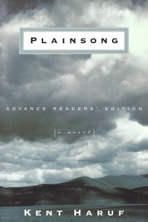 """<p><strong><em>Plainsong</em> by Kent Haruf</strong></p><p><span class=""""redactor-invisible-space"""">$11.19 <a class=""""link rapid-noclick-resp"""" href=""""https://www.amazon.com/Plainsong-Kent-Haruf/dp/0375705856/ref=tmm_pap_swatch_0?tag=syn-yahoo-20&ascsubtag=%5Bartid%7C10050.g.35990784%5Bsrc%7Cyahoo-us"""" rel=""""nofollow noopener"""" target=""""_blank"""" data-ylk=""""slk:BUY NOW"""">BUY NOW</a></span></p><p><span class=""""redactor-invisible-space"""">Set in Holt, Colorado, the best-selling novel, <em>Plainsong</em>, follows the interlocking stories of three very different people at different times in their lives. The book, the first in a three-book series, was a finalist for the National Book Award in 1999. </span></p>"""