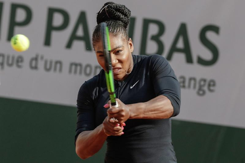 Serena Williams wins her opener in return to French Open