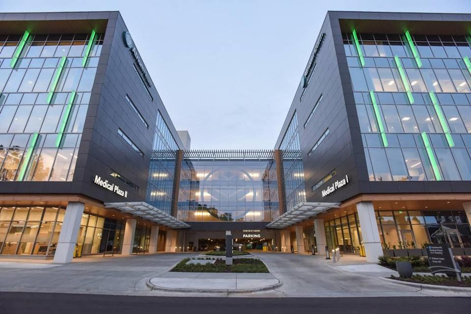 Atrium Health opened its newest Midtown Charlotte development.