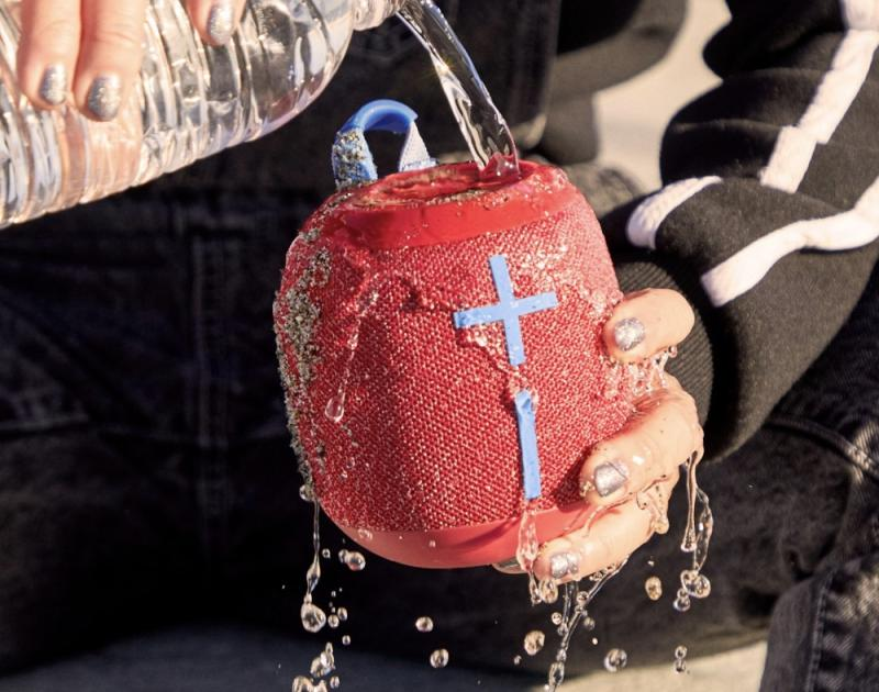 The UE Wonderboom 2 is a waterproof speaker than can float and withstand drops of up to 5 feet. (Image: UE)