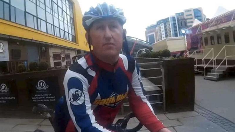 Simon Bagley, 42, was on his way to meet a 13-year-old girl who he had been