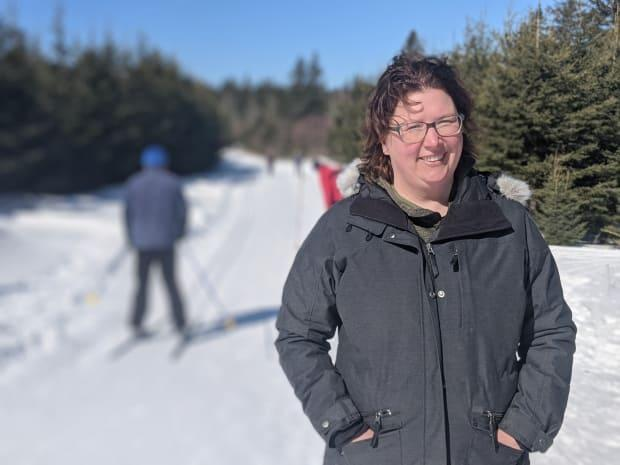 Becky Townshend says the interest in outdoor activity sparked by the pandemic has also brought new faces to the Souris ski club.