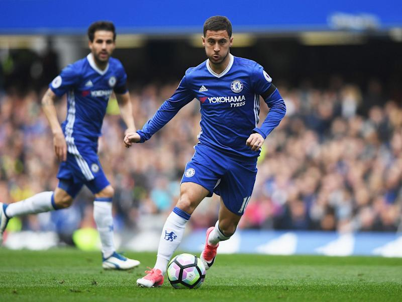 Eden Hazard was once again asked about his future: Getty