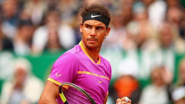 Rafael Nadal is in the same half of the draw as Novak Djokovic, while the same applies for Garbine Muguruza and Angelique Kerber.