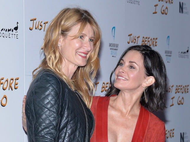 Laura Dern Courteney Cox
