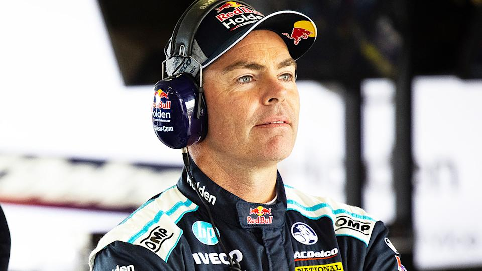 Craig Lowndes, pictured here during the Bathurst 1000 in 2020.