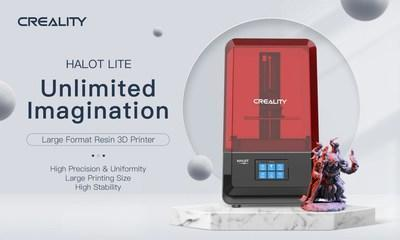 Creality's new product HALOT LITE provides unlimited imagination and multi-functions for your using experience. (PRNewsfoto/CREALITY)