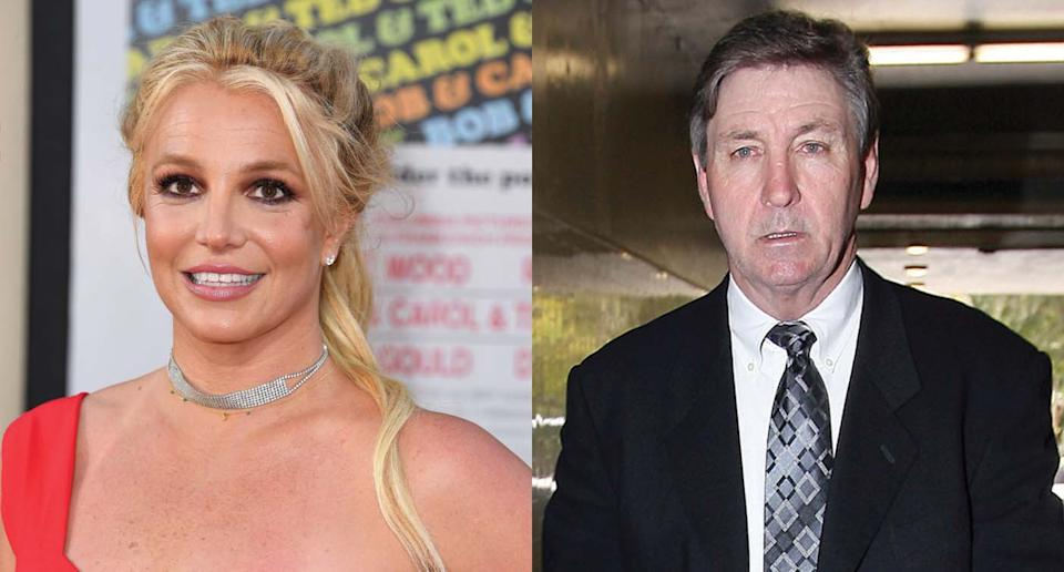 Britney Spears's father Jamie Spears immediately suspended from conservatorship affter more than a decade.