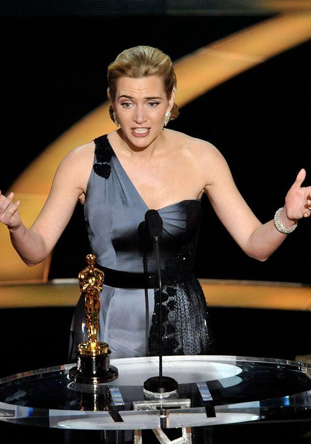 Kate Winslet has admitted she didn't think Harvey Weinstein on purpose when she won her Best Actress Oscar in 2009. Source: Getty