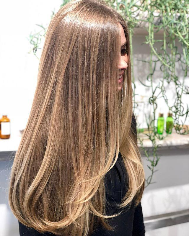 """<p>Sombré is basically the most subtle mixture of ombré and balayage. If you are trying out color for the first time, or just want a very born-this-way look, this could be for you. Consult with your colorist to choose a color that is a couple shades lighter than your natural color. </p><p><a href=""""https://www.instagram.com/p/BuHCR2eAffz/?utm_source=ig_embed&utm_campaign=loading"""" rel=""""nofollow noopener"""" target=""""_blank"""" data-ylk=""""slk:See the original post on Instagram"""" class=""""link rapid-noclick-resp"""">See the original post on Instagram</a></p>"""