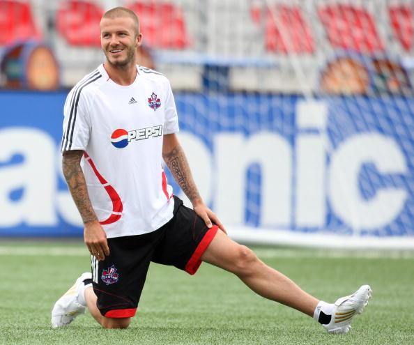 """<div class=""""caption-credit""""> Photo by: Getty</div><div class=""""caption-title""""></div>Soccer god and husband of Posh <b>David Beckham</b> occupies the very coveted spot on this list as the only man to have his legs insured, for an incredible $70 million dollars, <a rel=""""nofollow"""" target="""""""" href=""""http://news.xinhuanet.com/english2010/2010-05/31/c_13325075.htm"""">the most expensive in sports history</a>. This might have as much to do with his job as an underwear model for Calvin Klein as it does for his ability to kick balls. Either way, his body is a financial wonderland."""