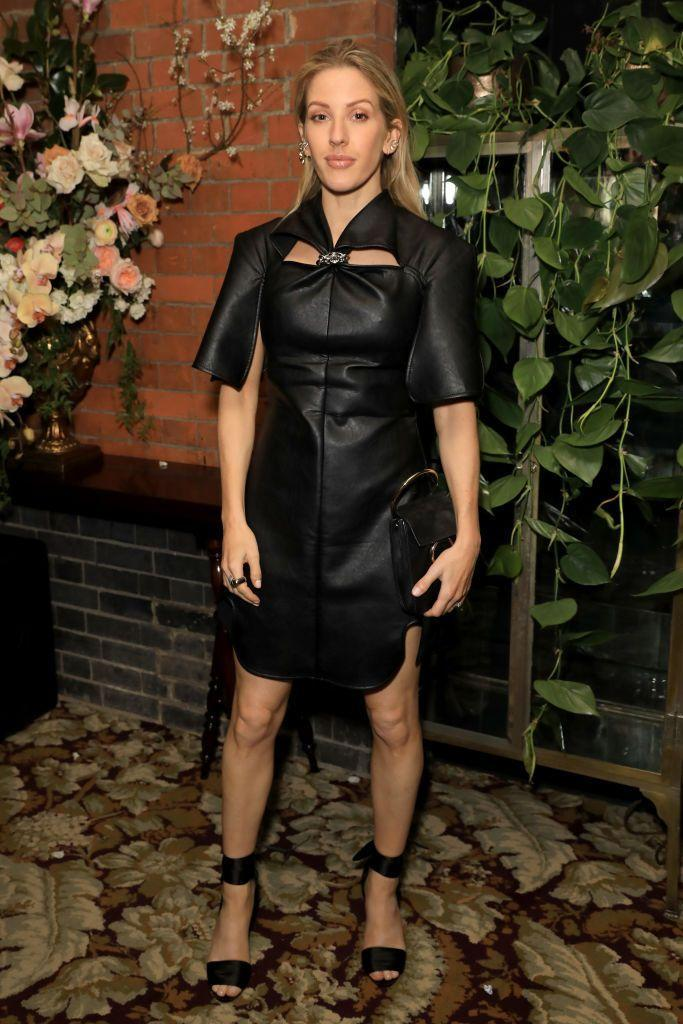 """<p>Singer Ellie Goulding shows us that a LBD can come in many shapes, fabrics, and designs with her structured leather ensemble for a BAFTA after-party. </p><p>•••</p><p><em>For more celebrity news, beauty and fashion advice, savvy political commentary, and fascinating f</em><em>eatures, sign up for the </em>Marie Claire <em>newsletter</em>.</p><p><a class=""""link rapid-noclick-resp"""" href=""""https://preferencecenter.hearstmags.com/"""" rel=""""nofollow noopener"""" target=""""_blank"""" data-ylk=""""slk:subscribe here"""">subscribe here</a></p>"""