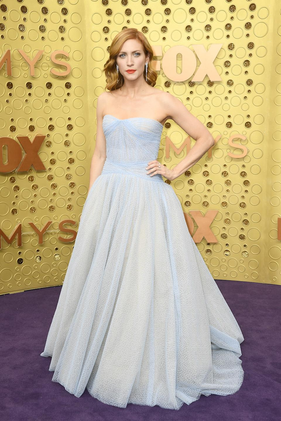 """<h1 class=""""title"""">Brittany Snow in Casadei shoes</h1><cite class=""""credit"""">Photo: Getty Images</cite>"""
