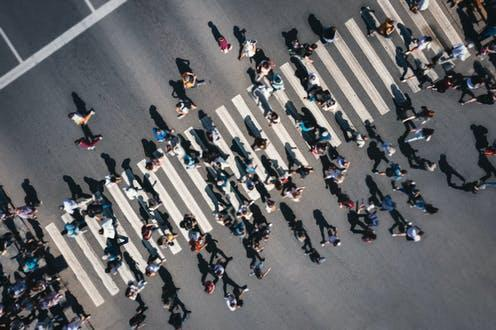 """<span class=""""caption"""">People power.</span> <span class=""""attribution""""><a class=""""link rapid-noclick-resp"""" href=""""https://www.shutterstock.com/image-photo/different-blurred-people-pedestrian-crossing-city-2000362358"""" rel=""""nofollow noopener"""" target=""""_blank"""" data-ylk=""""slk:Che Media"""">Che Media</a></span>"""