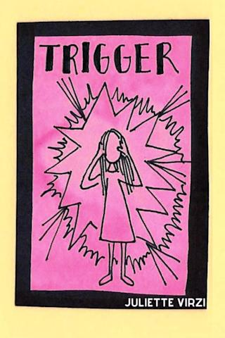 trigger image - woman putting head in hands