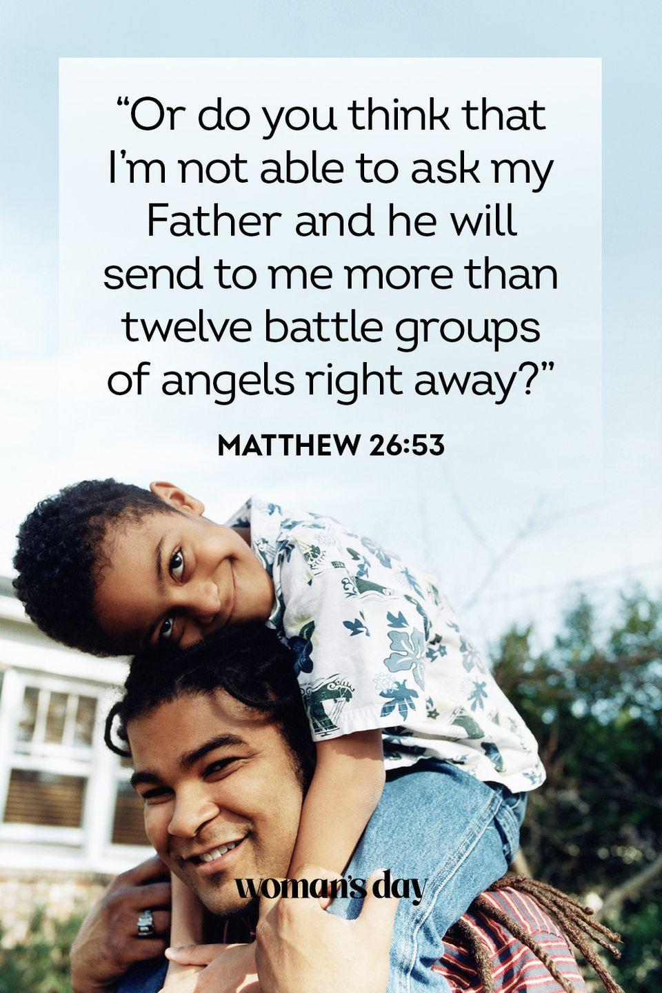 """<p>""""Like a parent feels compassion for their children — that's how the Lord feels compassion for those who honor him.""""</p><p><strong>The Good News: </strong>God loves you so much, just like your father does. </p>"""