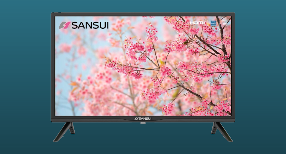 SANSUI S32 32 Inch 720p Smart LED HD TV - High Resolution Television Built-in HDMI, USB - Support Screen Cast Mirroring - Refresh Rate 60Hz (2020 Model)