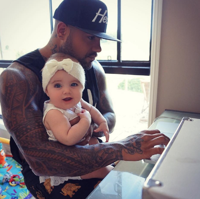 Fortafy and his daughter Egypt are taking over Facebook together. Photo: Fortafy