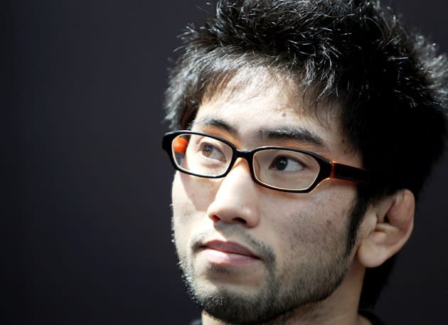 Shimizu at UFC media day on Thursday at MBS. (Getty Images)
