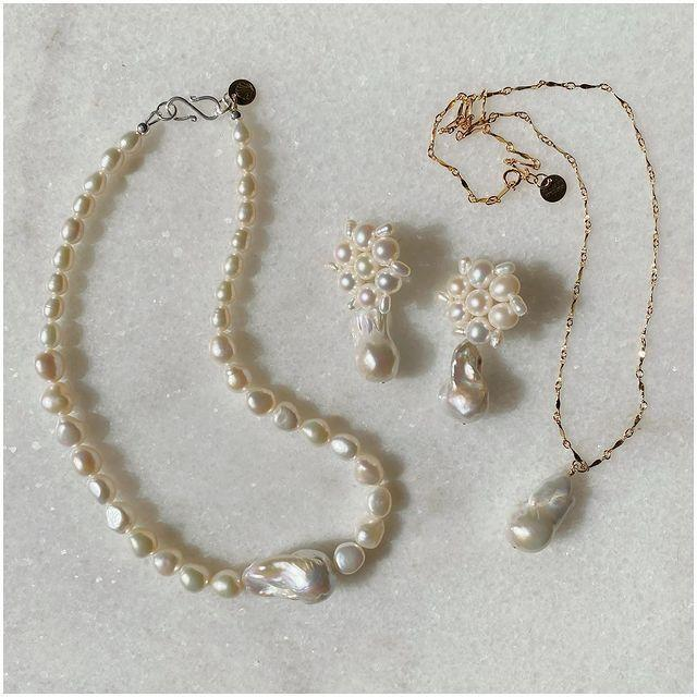 """<p>Pearls are the diamonds du jour, and Margaux Studios has them in abundance. Loved by the likes of actor <a href=""""https://www.elle.com/uk/life-and-culture/culture/a36024686/nicola-coughlan-sag-awards/"""" rel=""""nofollow noopener"""" target=""""_blank"""" data-ylk=""""slk:Nicola Coughlan"""" class=""""link rapid-noclick-resp"""">Nicola Coughlan</a>, these made-to-order pieces pack a dainty punch. </p><p><a class=""""link rapid-noclick-resp"""" href=""""https://www.margauxstudios.com/"""" rel=""""nofollow noopener"""" target=""""_blank"""" data-ylk=""""slk:SHOP MARGAUX STUDIOS NOW"""">SHOP MARGAUX STUDIOS NOW</a></p><p><a href=""""https://www.instagram.com/p/CNC6z7fA3qU/"""" rel=""""nofollow noopener"""" target=""""_blank"""" data-ylk=""""slk:See the original post on Instagram"""" class=""""link rapid-noclick-resp"""">See the original post on Instagram</a></p>"""