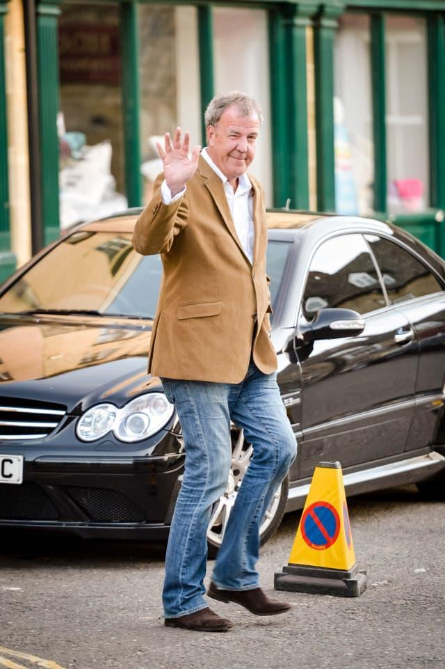 Jeremy Clarkson in Chipping Norton