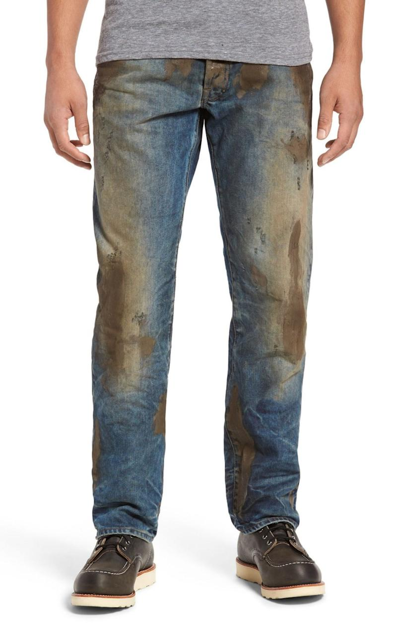Distressed jeans by Nordstrom