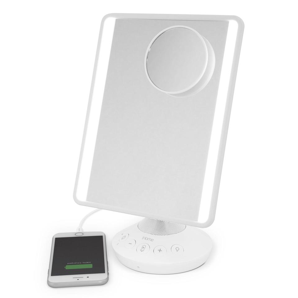 <p>Getting ready will be so fun and easy with this <span>iHome Mirror with Bluetooth Audio</span> ($49, originally $80).</p>