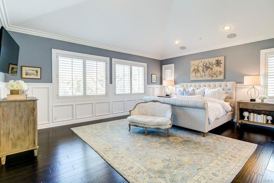 Tamra's master suite | CA Real Estate Photography