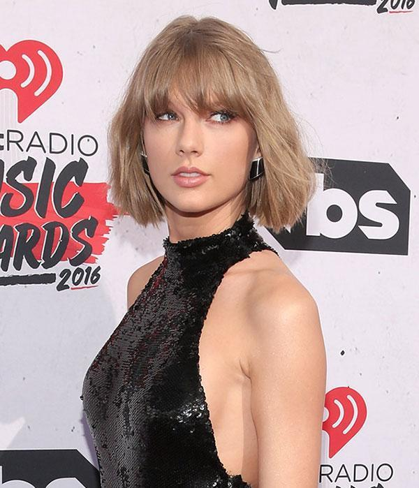 <br>While Taylor Swift has often played with the length of her hair, most recently debuting a chic bob, the popstar has not messed with her natural hue, until now...