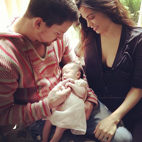 Channing Tatum, Jenna Dewan-Tatum Share First Picture of Baby Daughter Everly