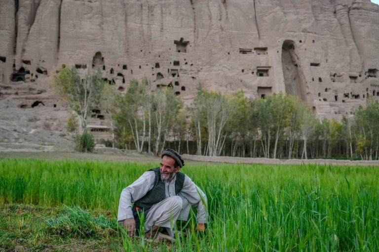 Bamiyan is home to the Buddha statues destroyed by the Taliban under their previous stint in power (AFP/BULENT KILIC)