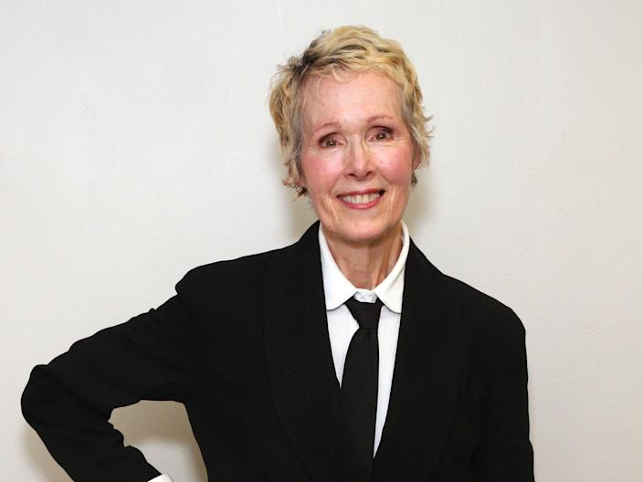 E Jean Carroll has sued President Donald Trump of defamation after she accused him of sexual assault (Astrid Stawiarz/Getty Images for Glamour)