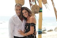 """<p>The couple hit it off on season 3 of <em>BiP</em> and left paradise with an engagement ring <a href=""""https://www.bustle.com/p/do-lace-grant-still-have-their-grace-tattoos-these-bachelor-in-paradise-stars-made-a-big-move-together-7814170"""" rel=""""nofollow noopener"""" target=""""_blank"""" data-ylk=""""slk:and matching """"Grace"""" tattoos"""" class=""""link rapid-noclick-resp"""">and matching """"Grace"""" tattoos</a> (as in, their couple name...I know 😂). A few months later, the two parted ways in a mutual split—although Grant has since said <a href=""""https://www.usmagazine.com/entertainment/news/bachelorettes-grant-kemp-lace-morris-romance-was-volatile-w470397/"""" rel=""""nofollow noopener"""" target=""""_blank"""" data-ylk=""""slk:their relationship was """"volatile."""""""" class=""""link rapid-noclick-resp"""">their relationship was """"volatile.""""</a></p>"""