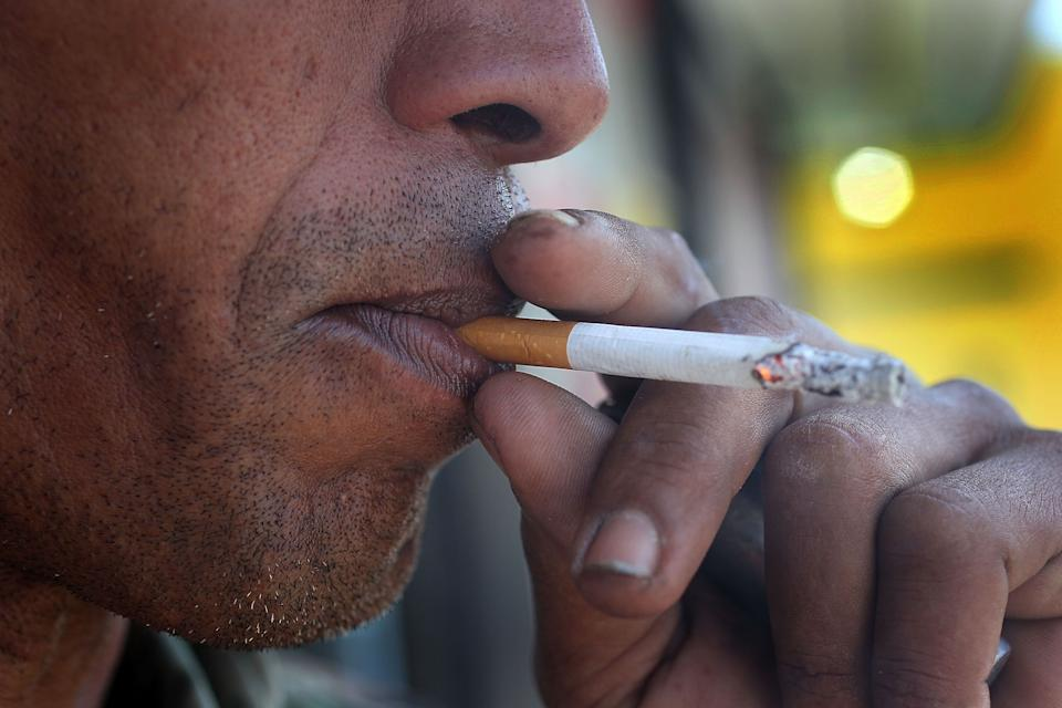 """The Food and Drug Administration last month announced plans to ban menthol cigarettes, noting that doing so couldencourage<a href=""""https://www.fda.gov/news-events/press-announcements/fda-commits-evidence-based-actions-aimed-saving-lives-and-preventing-future-generations-smokers"""" target=""""_blank"""" rel=""""noopener noreferrer"""">923,000 more smokers</a>to quit. (Photo: Joe Raedle/Getty Images)"""