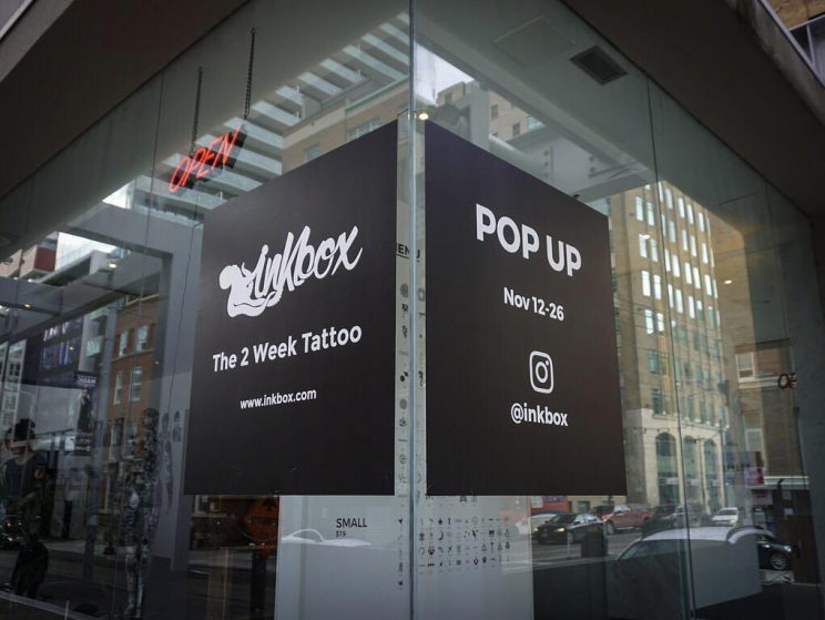 How much does it cost to open up a pop-up shop?