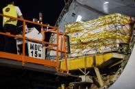 The first shipment of coronavirus disease (COVID-19) vaccine arrives in Singapore