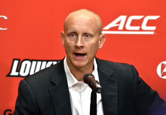 Louisville's Chris Mack is among the old faces in new places this season. (AP)